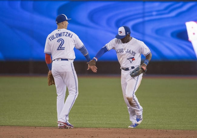 Toronto Blue Jays vs. Tampa Bay Rays - 8/15/17 MLB Pick, Odds, and Prediction