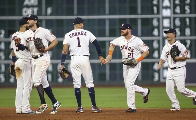 Texas Rangers vs. Houston Astros - 8/11/17 MLB Pick, Odds, and Prediction