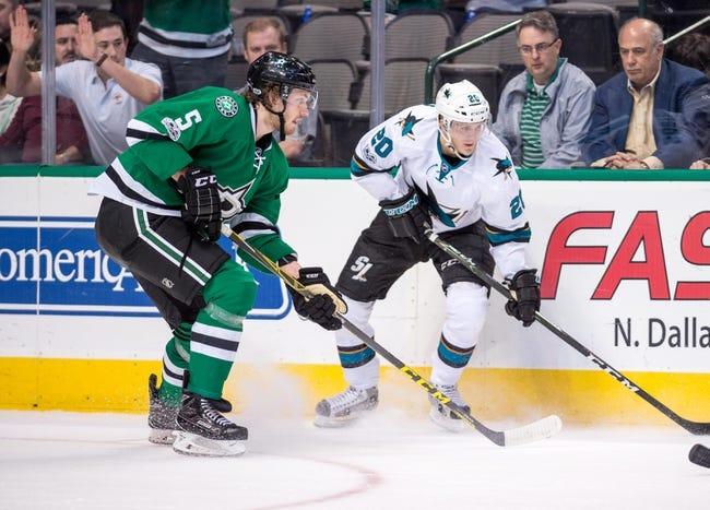 Dallas Stars vs. San Jose Sharks - 12/31/17 NHL Pick, Odds, and Prediction