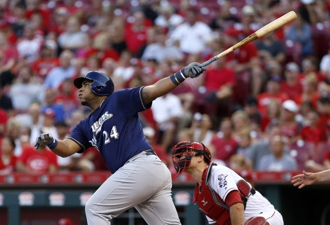 Milwaukee Brewers vs. Cincinnati Reds - 8/11/17 MLB Pick, Odds, and Prediction