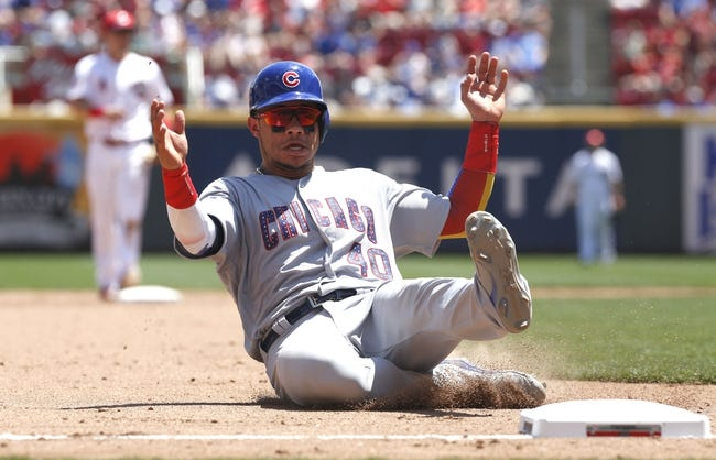 Chicago Cubs vs. Cincinnati Reds - 8/14/17 MLB Pick, Odds, and Prediction