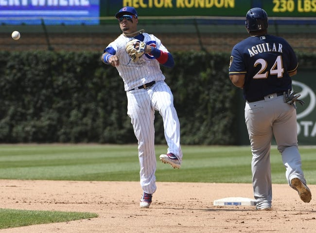 Milwaukee Brewers vs. Chicago Cubs - 7/28/17 MLB Pick, Odds, and Prediction