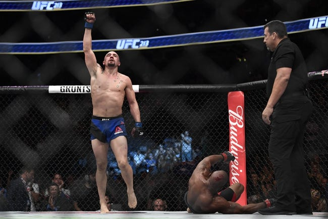 Robert Whittaker vs. Yoel Romero UFC 225 Pick, Preview, Odds, Prediction - 6/9/18