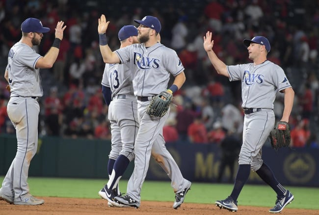 Los Angeles Angels vs. Tampa Bay Rays - 7/16/17 MLB Pick, Odds, and Prediction