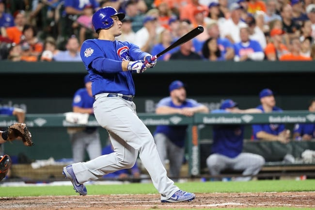 Baltimore Orioles vs. Chicago Cubs - 7/16/17 MLB Pick, Odds, and Prediction