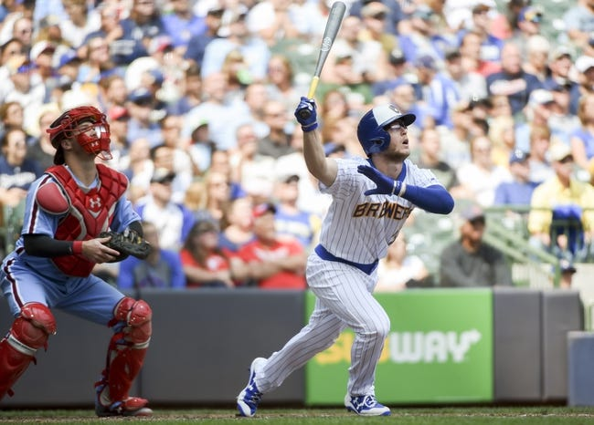 Philadelphia Phillies vs. Milwaukee Brewers - 7/21/17 MLB Pick, Odds, and Prediction