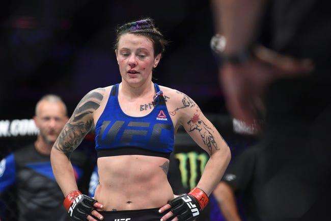 Joanne Calderwood vs. Kalindra Faria UFC Pick, Preview, Odds, Prediction - 8/25/18