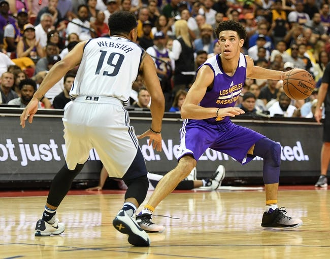 Minnesota Timberwolves vs. Los Angeles Lakers - 9/30/17 NBA Pick, Odds, and Prediction