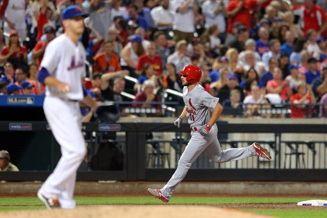 New York Mets vs. St. Louis Cardinals - 7/18/17 MLB Pick, Odds, and Prediction