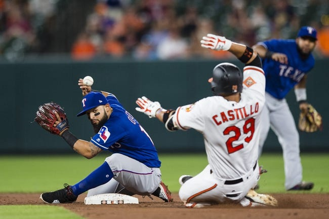 Baltimore Orioles vs. Texas Rangers - 7/18/17 MLB Pick, Odds, and Prediction