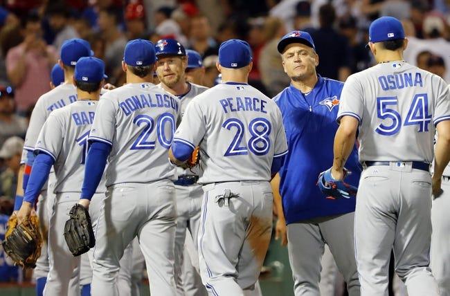 Boston Red Sox vs. Toronto Blue Jays - 7/18/17 MLB Pick, Odds, and Prediction