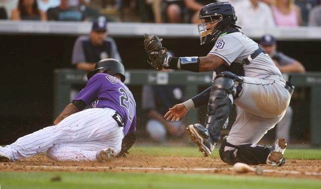 Colorado Rockies vs. San Diego Padres - 7/18/17 MLB Pick, Odds, and Prediction