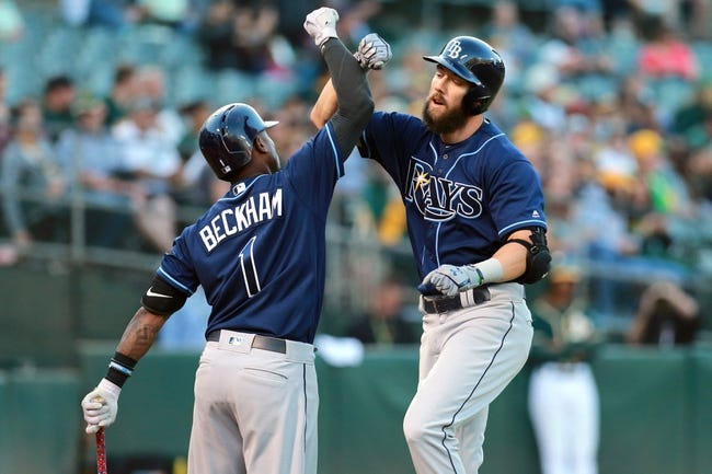 Oakland Athletics vs. Tampa Bay Rays - 7/18/17 MLB Pick, Odds, and Prediction