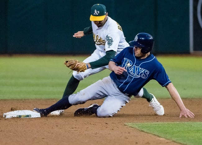 Oakland Athletics vs. Tampa Bay Rays - 7/19/17 MLB Pick, Odds, and Prediction