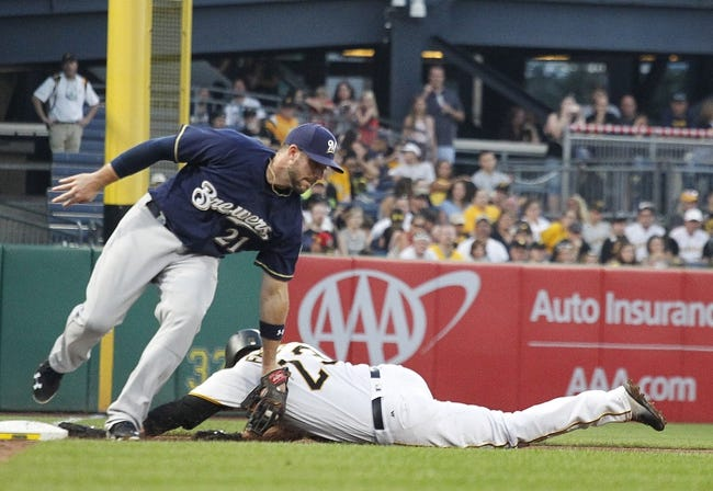 Pittsburgh Pirates vs. Milwaukee Brewers - 7/20/17 MLB Pick, Odds, and Prediction