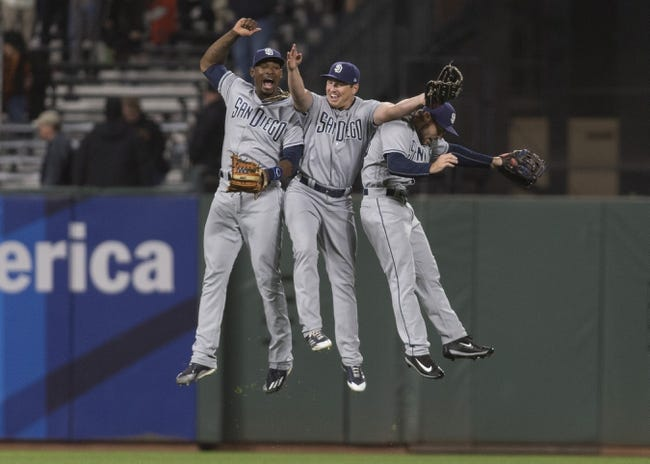 San Francisco Giants vs. San Diego Padres - 7/21/17 MLB Pick, Odds, and Prediction