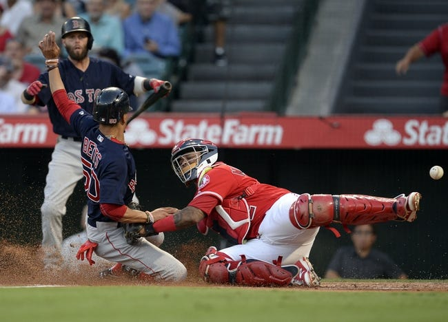 Los Angeles Angels vs. Boston Red Sox - 7/22/17 MLB Pick, Odds, and Prediction