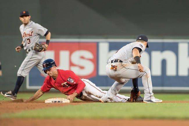 Minnesota Twins vs. Detroit Tigers - 7/22/17 MLB Pick, Odds, and Prediction
