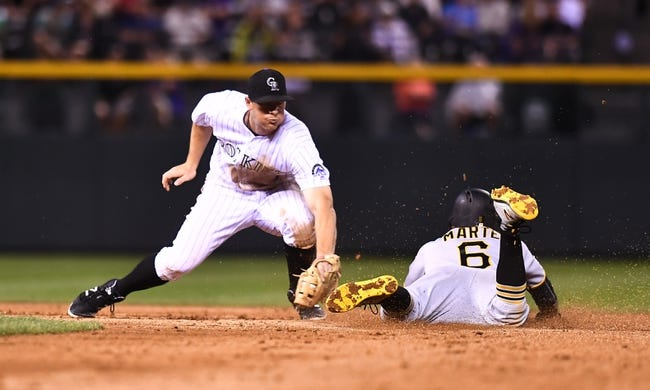 Colorado Rockies vs. Pittsburgh Pirates - 7/22/17 MLB Pick, Odds, and Prediction
