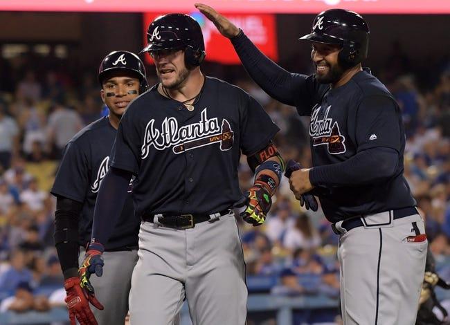 Los Angeles Dodgers vs. Atlanta Braves - 7/22/17 MLB Pick, Odds, and Prediction