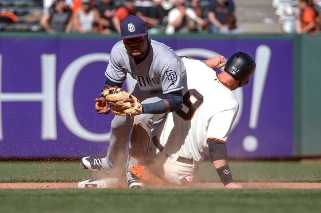 San Francisco Giants vs. San Diego Padres - 7/23/17 MLB Pick, Odds, and Prediction