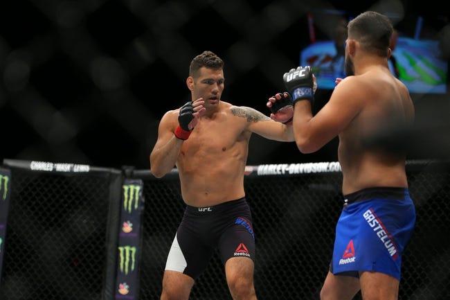 Chris Weidman vs Ronaldo Souza UFC 230 Pick, Preview, Odds, Prediction - 11/3/18