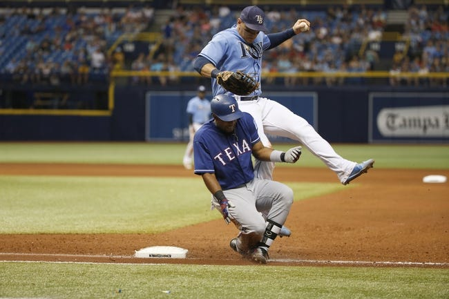 Tampa Bay Rays vs. Texas Rangers - 4/16/18 MLB Pick, Odds, and Prediction
