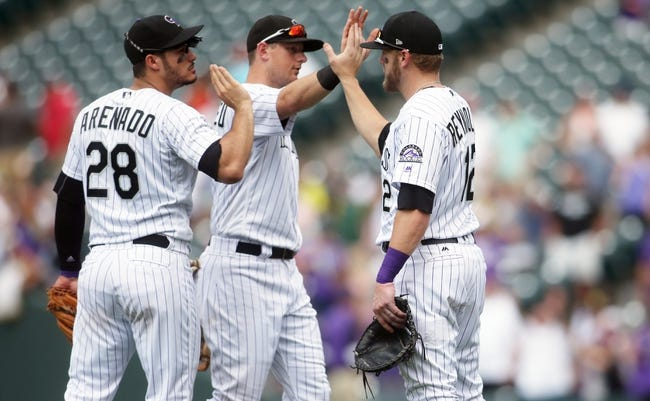 Pittsburgh Pirates vs. Colorado Rockies - 4/16/18 MLB Pick, Odds, and Prediction