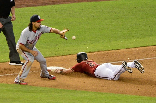 Washington Nationals vs. Arizona Diamondbacks - 4/27/18 MLB Pick, Odds, and Prediction