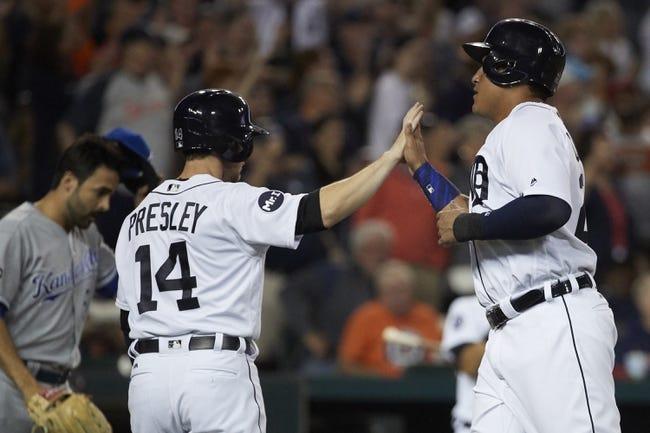 Detroit Tigers vs. Kansas City Royals - 7/25/17 MLB Pick, Odds, and Prediction
