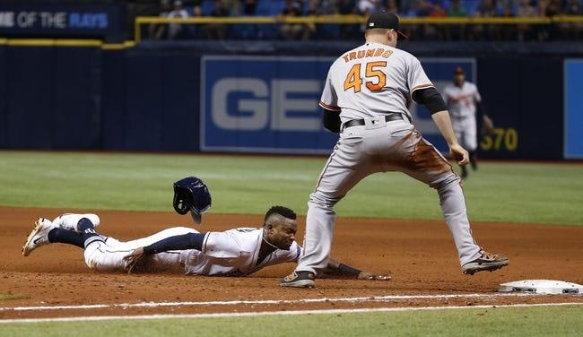 Tampa Bay Rays vs. Baltimore Orioles - 7/25/17 MLB Pick, Odds, and Prediction