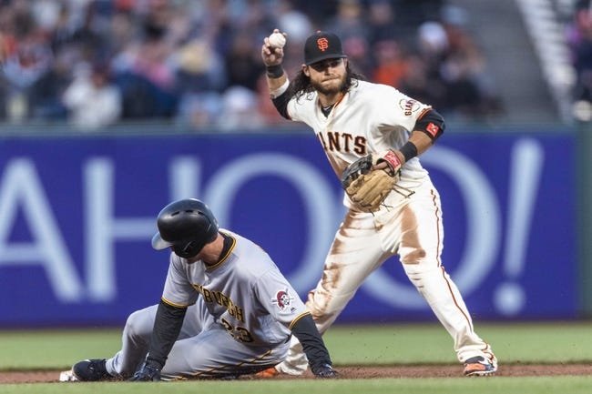 San Francisco Giants vs. Pittsburgh Pirates - 7/25/17 MLB Pick, Odds, and Prediction