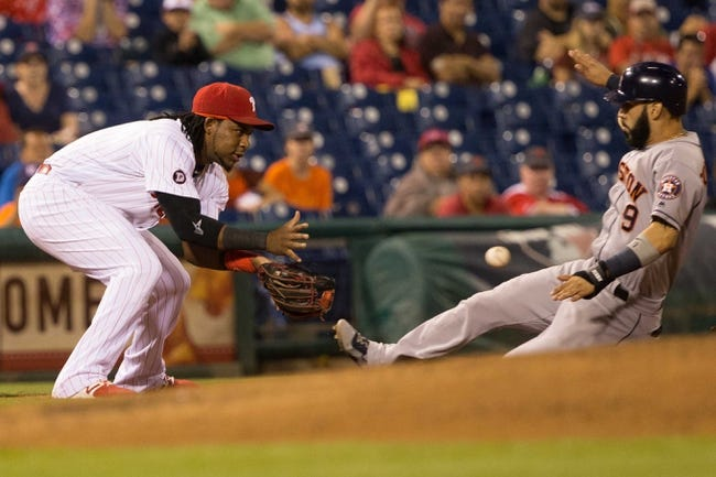 Philadelphia Phillies vs. Houston Astros - 7/25/17 MLB Pick, Odds, and Prediction