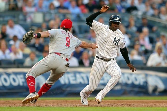 New York Yankees vs. Cincinnati Reds - 7/26/17 MLB Pick, Odds, and Prediction