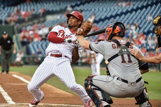 Philadelphia Phillies vs. Houston Astros - 7/26/17 MLB Pick, Odds, and Prediction