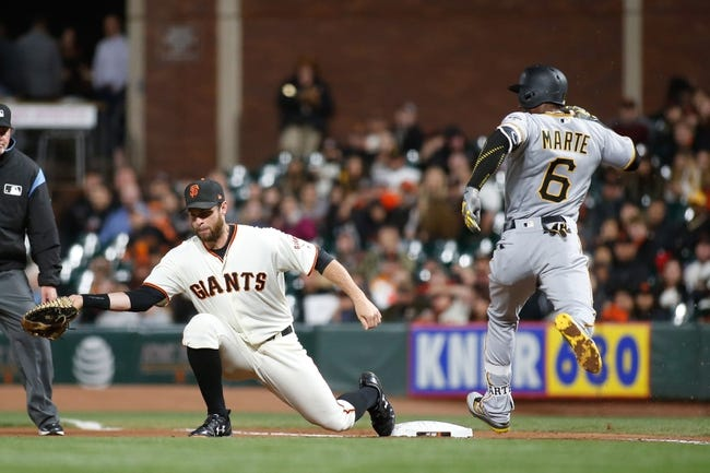 San Francisco Giants vs. Pittsburgh Pirates - 7/26/17 MLB Pick, Odds, and Prediction