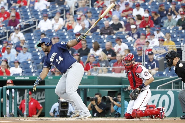 Washington Nationals vs. Milwaukee Brewers - 7/27/17 MLB Pick, Odds, and Prediction