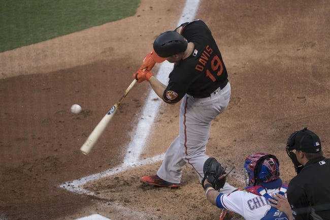 Texas Rangers vs. Baltimore Orioles - 7/29/17 MLB Pick, Odds, and Prediction