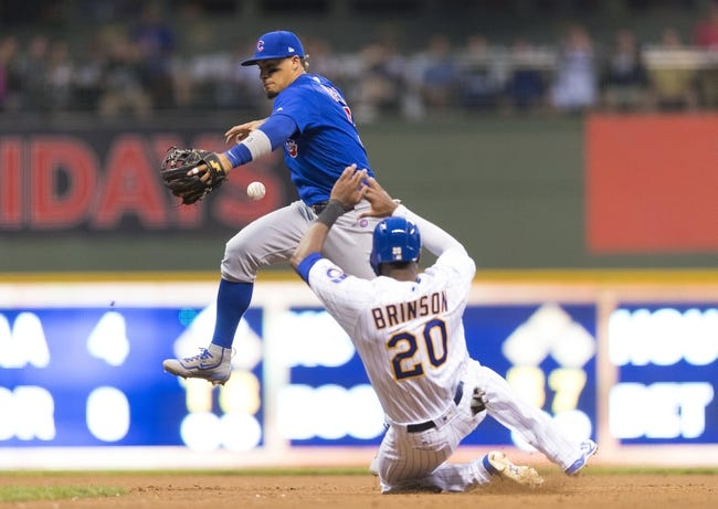 Milwaukee Brewers vs. Chicago Cubs - 7/29/17 MLB Pick, Odds, and Prediction