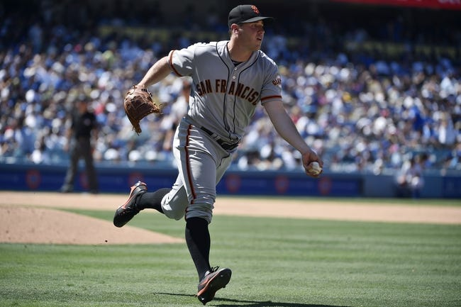 Los Angeles Dodgers vs. San Francisco Giants - 7/30/17 MLB Pick, Odds, and Prediction