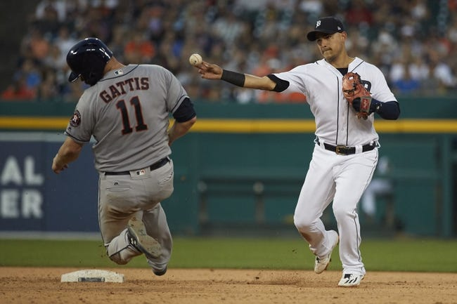 Detroit Tigers vs. Houston Astros - 7/30/17 MLB Pick, Odds, and Prediction