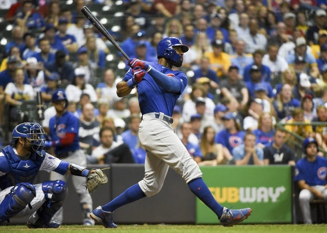 Milwaukee Brewers vs. Chicago Cubs - 7/30/17 MLB Pick, Odds, and Prediction