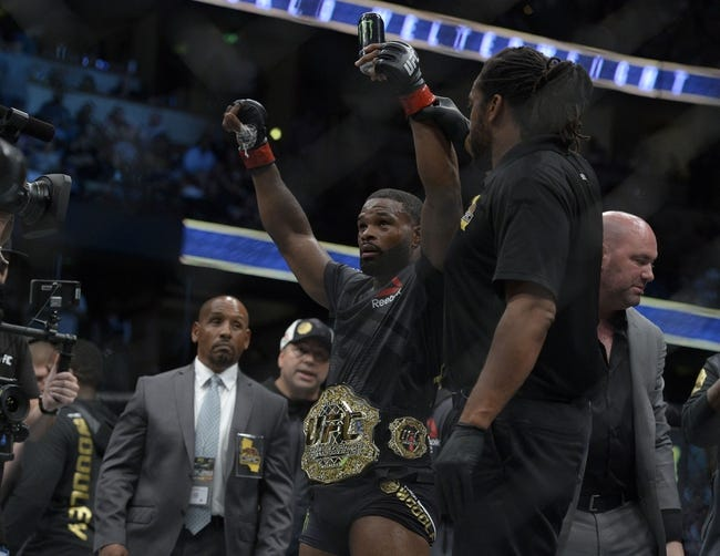 Tyron Woodley vs. Darren Till UFC 228 Pick, Preview, Odds, Prediction - 9/8/18