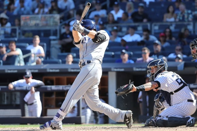 Tampa Bay Rays vs. New York Yankees - 9/12/17 MLB Pick, Odds, and Prediction