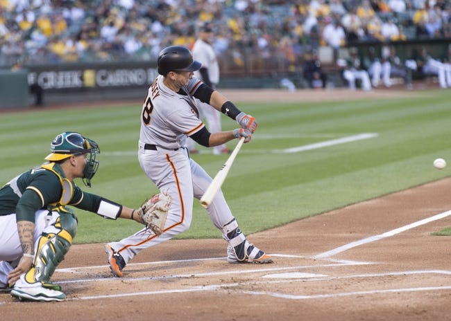Oakland Athletics vs. San Francisco Giants - 8/1/17 MLB Pick, Odds, and Prediction