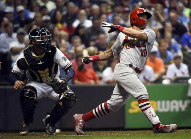 Milwaukee Brewers vs. St. Louis Cardinals - 8/3/17 MLB Pick, Odds, and Prediction