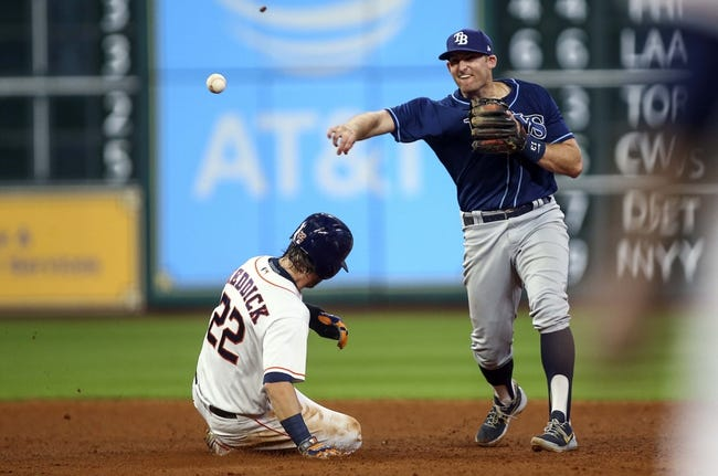 Houston Astros vs. Tampa Bay Rays - 8/3/17 MLB Pick, Odds, and Prediction