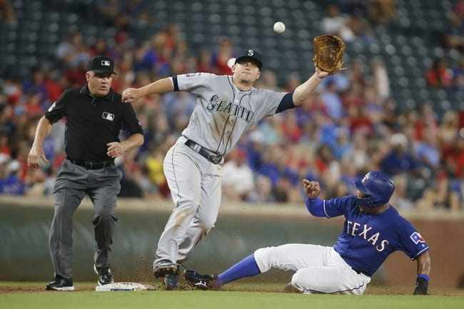 Texas Rangers vs. Seattle Mariners - 9/11/17 MLB Pick, Odds, and Prediction