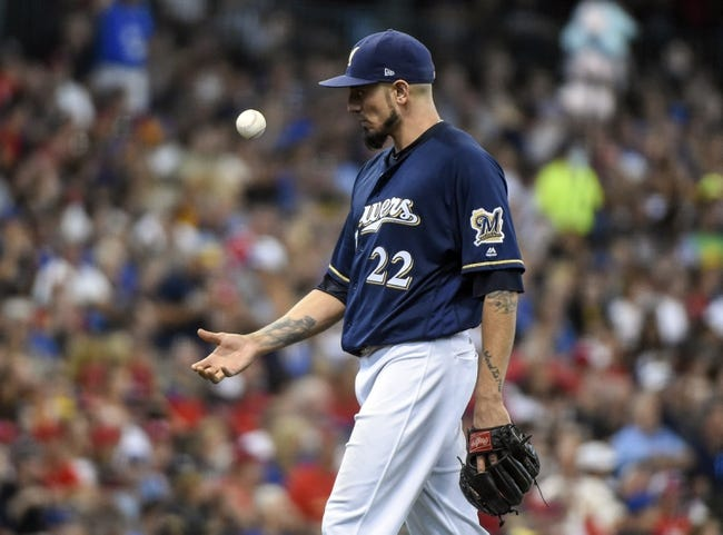 Milwaukee Brewers vs. St. Louis Cardinals - 8/29/17 MLB Pick, Odds, and Prediction