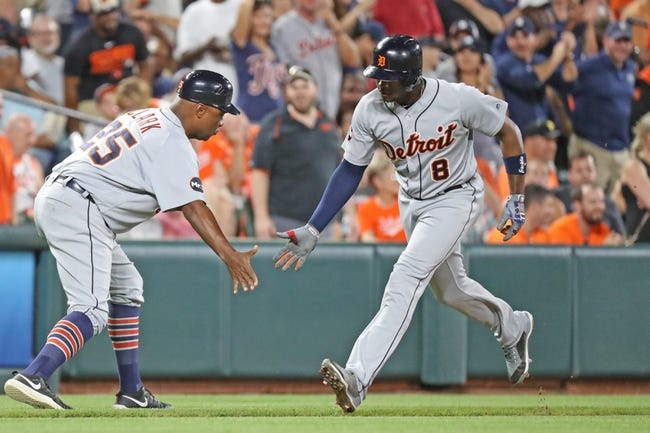 Baltimore Orioles vs. Detroit Tigers - 8/5/17 MLB Pick, Odds, and Prediction